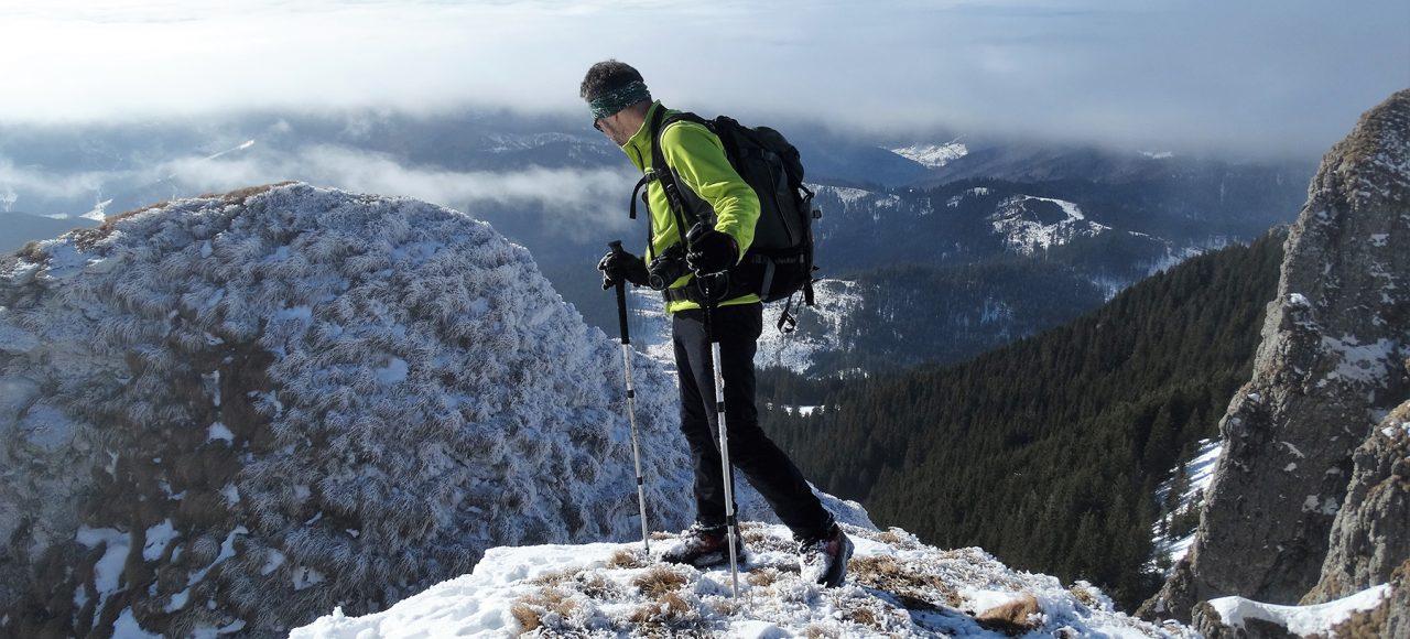 Carpathians in snow