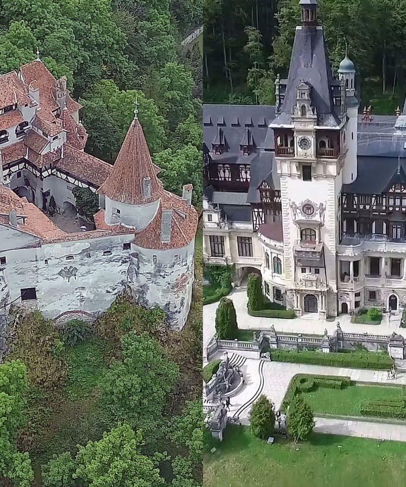 Dracula's Castle - Peles Castle